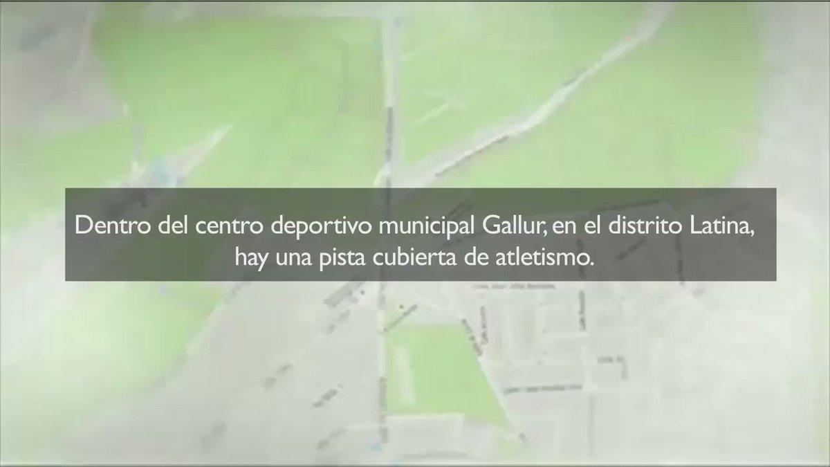 Ayuntamiento Madrid On Twitter La Pista De Atletismo De Gallur Y