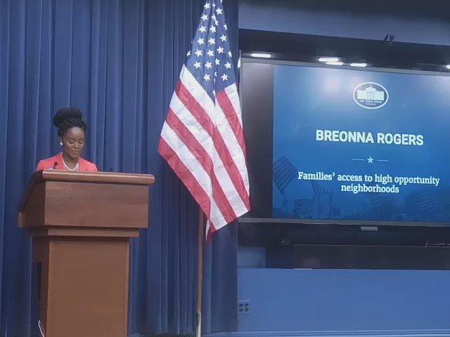 Breonna Rogers telling her story #TheOpportunityProject @CommerceGovData @CommerceGov @uscensusbureau https://t.co/VjmIDHY7ZE