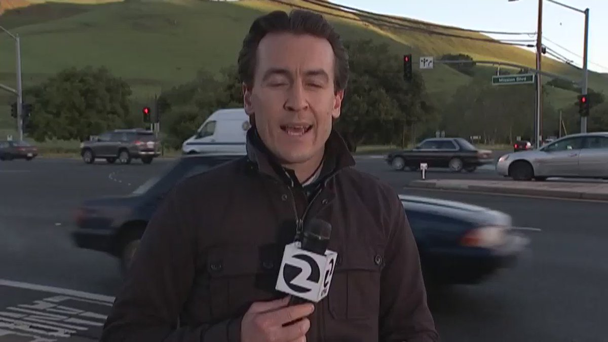 Close call for @AlexSavidgeKTVU @VaughanChip this am. Everyone is ok. Thanks for all your kind thoughts❤️ https://t.co/6AU3poGiD7