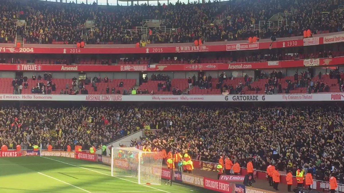 Y así canta la afición del Watford a Quique Sánchez Flores... #FACup https://t.co/NLSClk7T5V