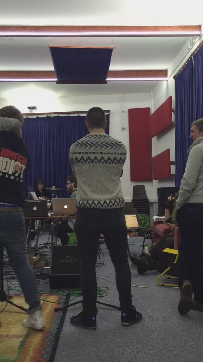 @UKAmericanIdiot Sitzprobe sounding incredible with the outstanding band! So exciting! You are all in for a treat!! https://t.co/NyS2ZPgHRS