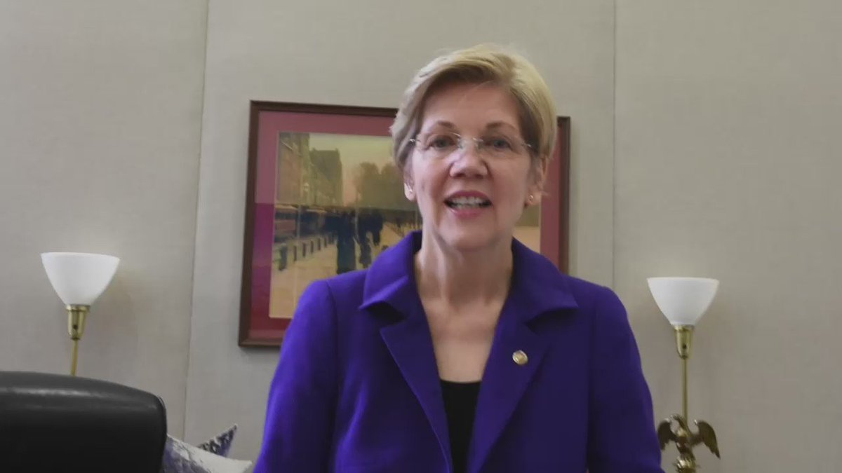 In Massachusetts equal means equal. TY @SenWarren for your unwavering support of #trans rights. #EveryoneWelcome https://t.co/oqAA5cRCDo