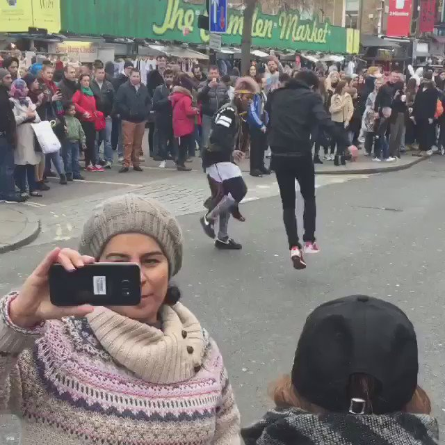 A normal day in camden