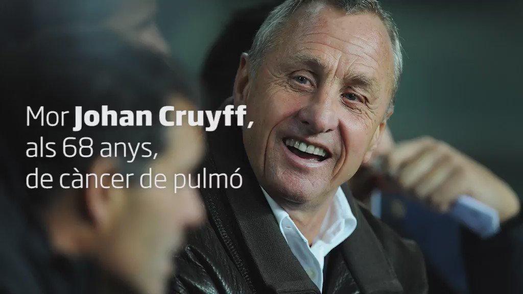 La trajectòria de Johan Cruyff en 30 segons de vídeo #DEPJohanCruyff https://t.co/MIDKAnbY3B