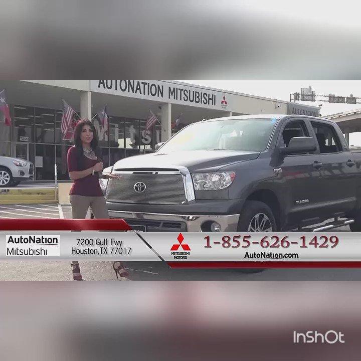 """Mitsubishi Houston: Laura Perilla On Twitter: """"AUTONATION MITSUBICHI 🎬🎥 🚘"""