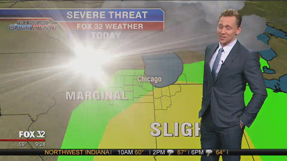 トムヒがロキになって適当に天気予報するのも好きです