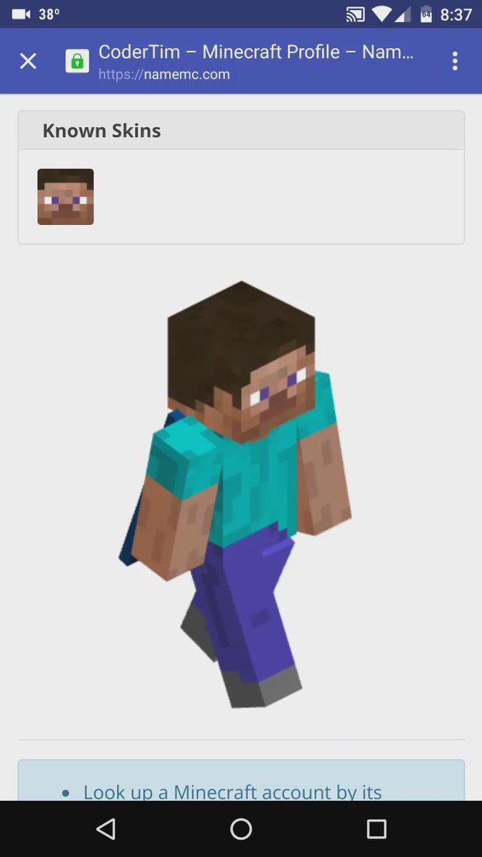 NameMC в Twitter Its Now Possible To Rotate The D Skin Models On - Minecraft profile namemc