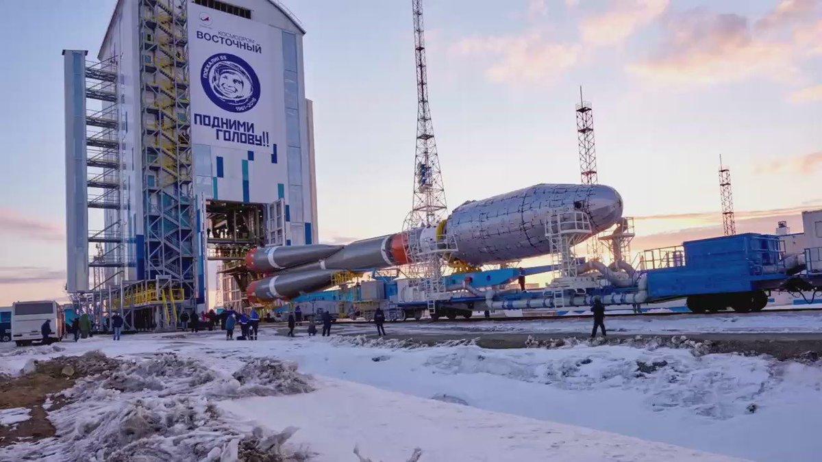 будет ли запуск ракеты с космодрома восточный термобельем пользовались