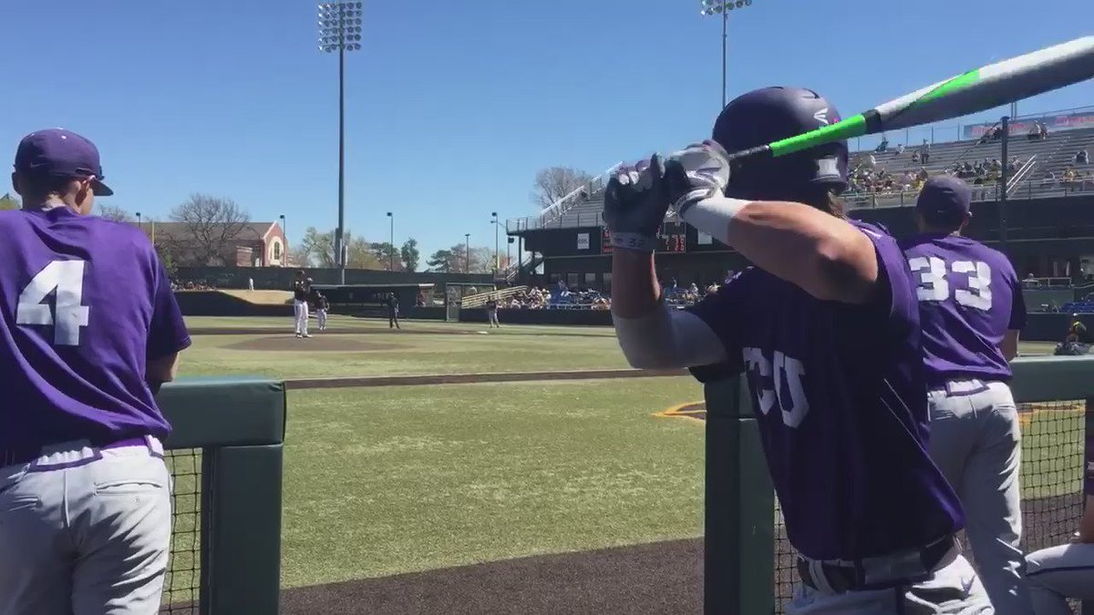 This is what Mental At-Bats look like. Great opportunity to work your routine! #MentalGameClinic @TCU_Baseball https://t.co/JId6b9EDyA