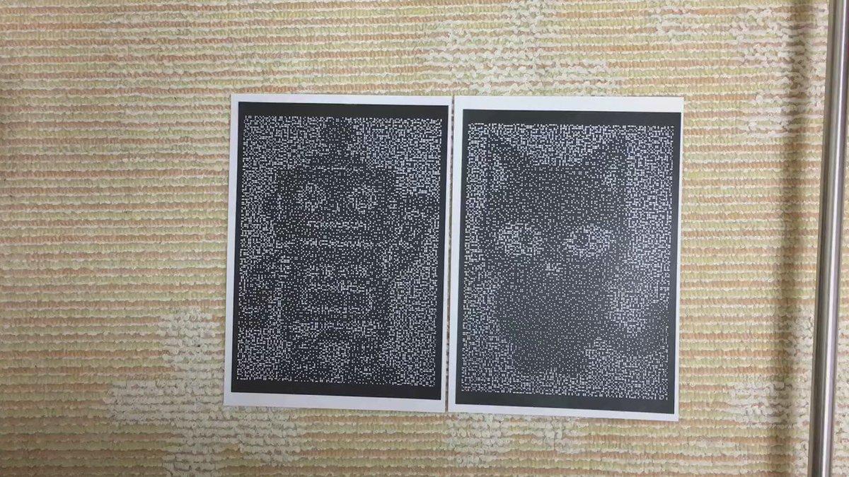さて問題です。ロボットの切り絵と猫の切り絵を重ねるとどうなるでしょう?え?簡単だった?そうかー・・・。tarohere.com/archives/801 pic.twitter.com/VQS14hS6ox