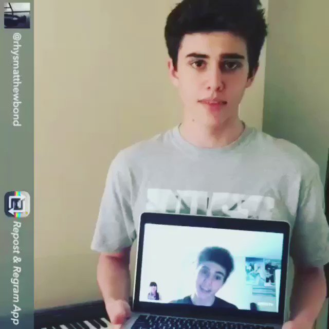 In honor of tonight's NEW EPISODE of #GoodWitch here's a lil throwback of our @rhysmatthewbond interview! https://t.co/C8QFc0iGUd