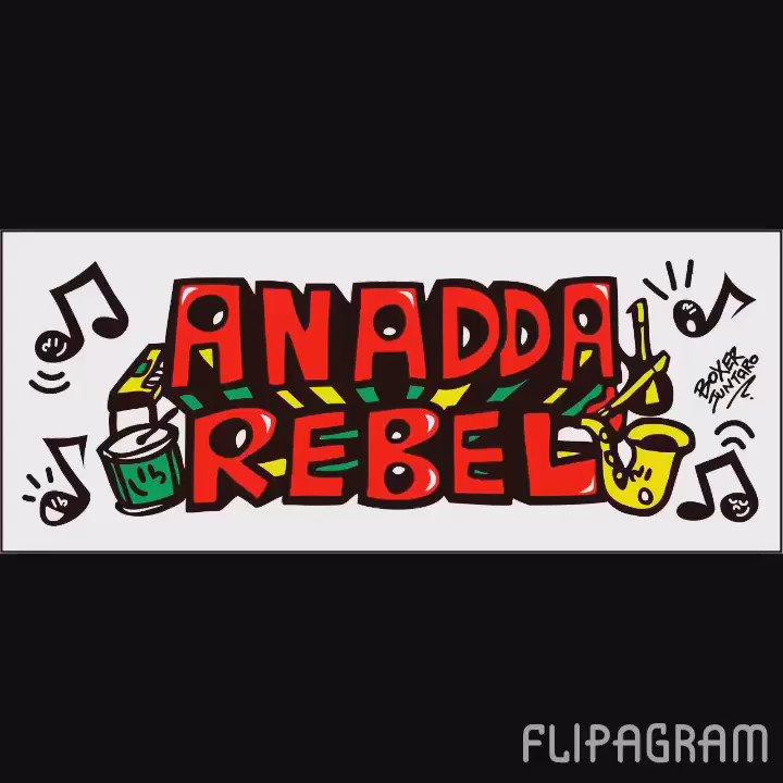 ANADDA REBEL... 明日で活動休止。 今後の活動については誰にもわからない。 沢山の人に見てもらいたい。 メンバーに感謝。 GeG、イリコ、順ちゃん、はやし。 なんだかんだで、最高のメンバー。 明日は楽しみます! https://t.co/e6we2iCIl9