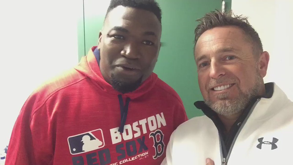 This is the video me and @davidortiz sent our little buddy Maverick before Red Sox game tonight.... https://t.co/kVTqSoe8OV
