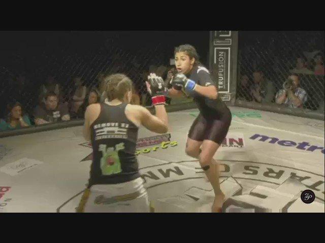 "Jennifer Favela vs. Serena ""The Southpaw Outlaw"" DeJesus #TuffnUff #FutureStarsOfMMA https://t.co/t8PYCaIJ17"