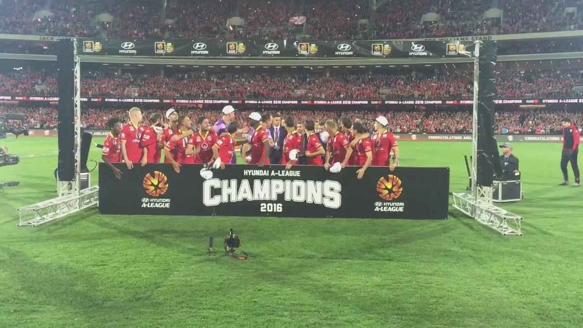 We are Champions. #AUFC #ALeagueGF #ForeverUnited https://t.co/ZvfTKCdEaN