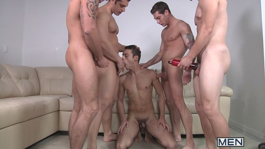 Gay ful family orgy