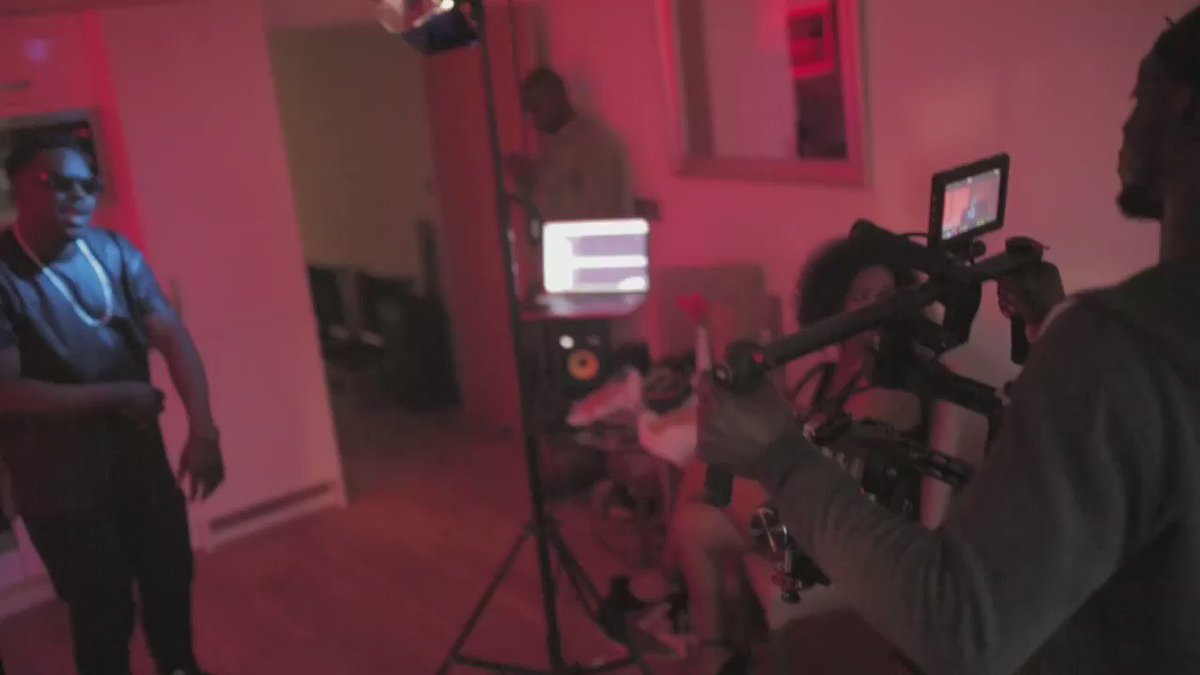 @Silvastonebeats ft @Goryuk - Real Man 'Official Video' coming soon. I was in director mode at this point.