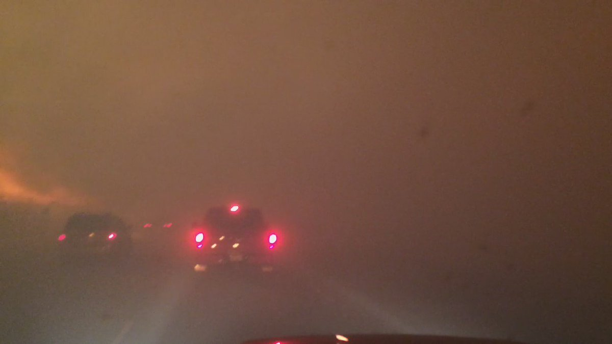 Oh my. RT @jstuffcocrimlaw: My harrowing drive evacuating #ymm praying for my friends https://t.co/tgGMW2nnZX