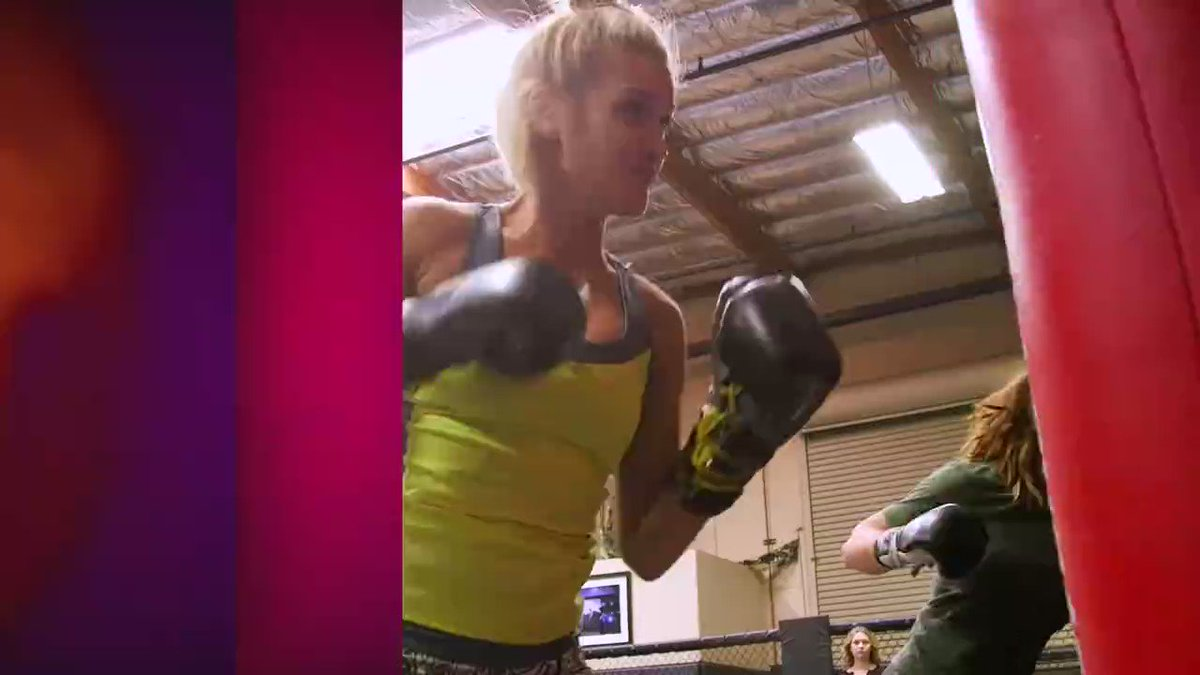 This weekend, we're checking out the coolest jobs ever! Watch @ImAshleyRoberts get into the ring with @MieshaTate. https://t.co/CrsmfvFPh3