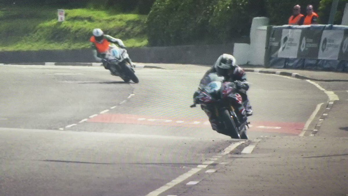 Some great super slo-mo Michael Dunlop @northwest200 https://t.co/XFumeJwfcY