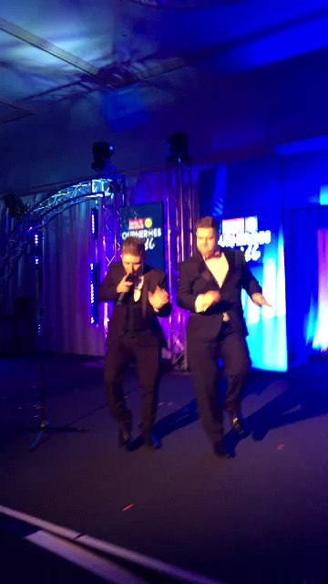 RT @gradowrestling: Backin up @nickymcdonald1 oan the stage et @Daily_Record Our Hero Awards https://t.co/N11OR4FJEp