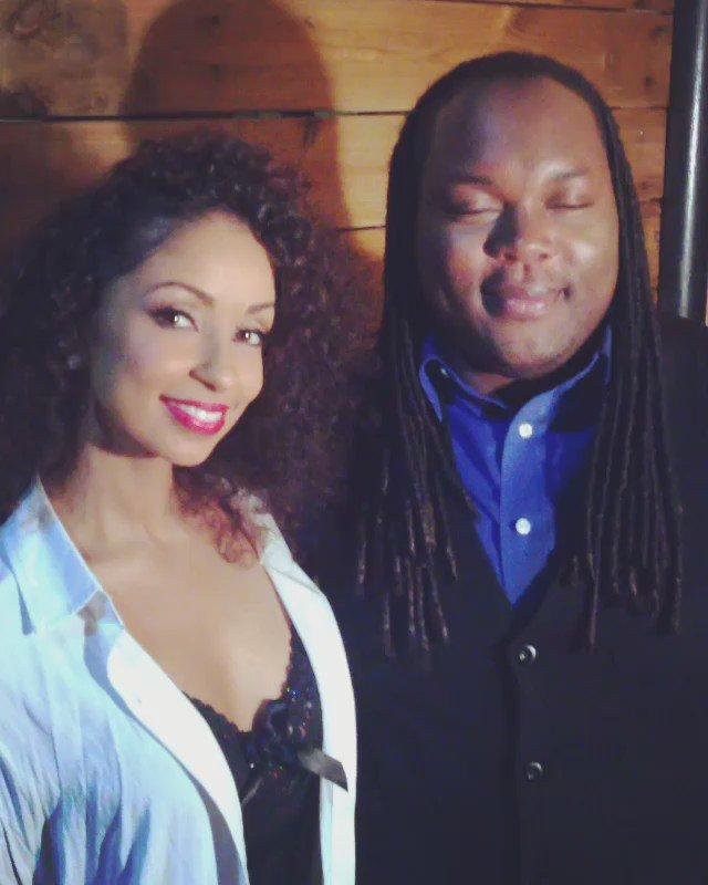 Chillin backstage with Mya @MissMya after we filmed @TheBrandonJShow! ❤️❤️❤️ https://t.co/IpI5qtPwr4