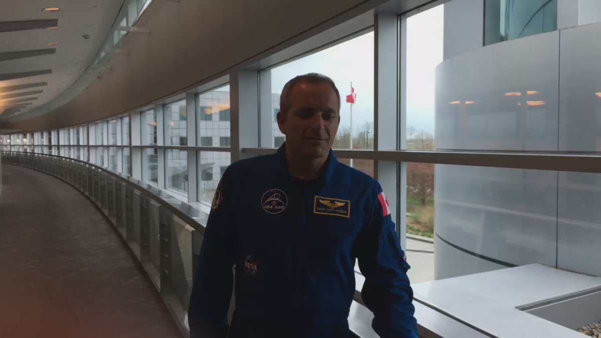 I am so honoured to be the next Canadian in space. Thank you for all your messages and kind wishes. Merci beaucoup! https://t.co/XIqBEJ9MkM