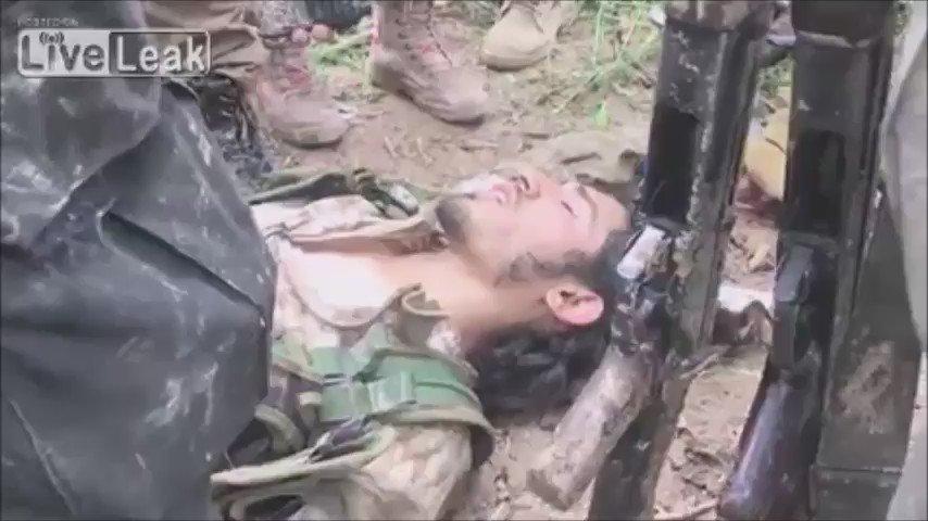 Kurdish Pêşmerga Mosul : ISIS fighter crying captured Kurdish