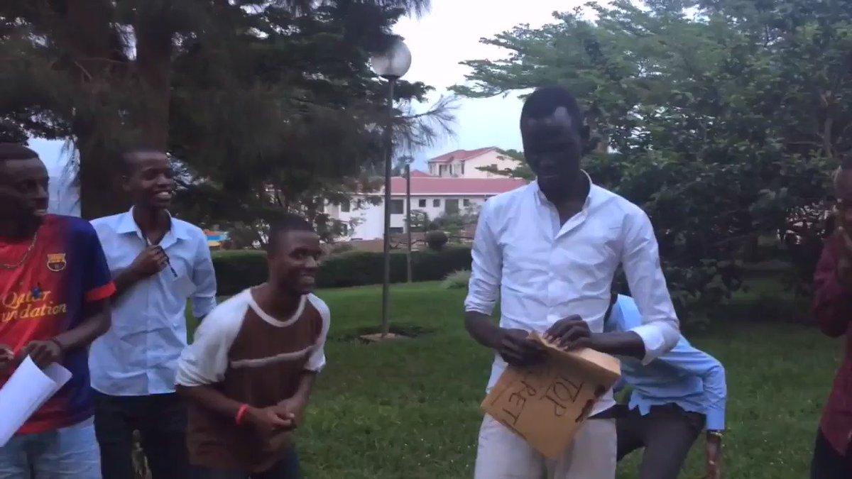 We love seeing Manyiel Monykuer react to his acceptance to TCU! #TCU20 @TCUAdmission @Bridge2Rwanda. https://t.co/2DSvtkzBZR