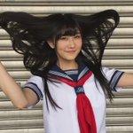 やっぱ日本人は黒髪が美しいよね...この女子校生可愛すぎてずっと見ていられそう!