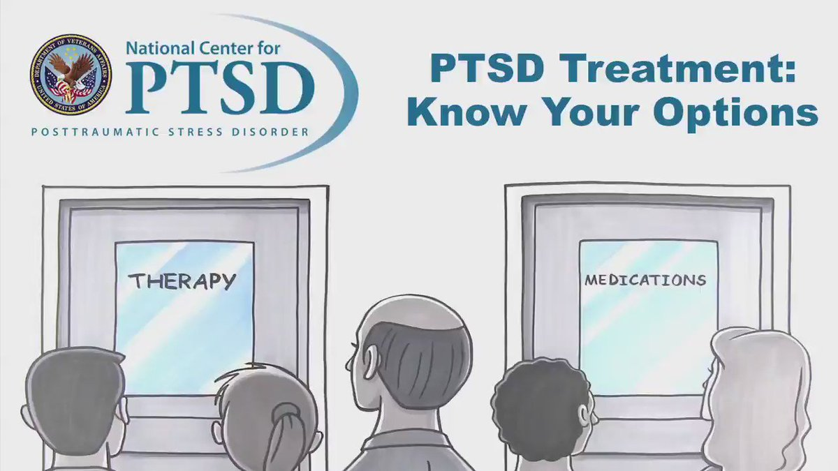 June is #PTSDAwarenessMonth. Start a dialogue by watching & sharing this video about #PTSD: https://t.co/HSs7aZANkI https://t.co/zAzKOPbGay