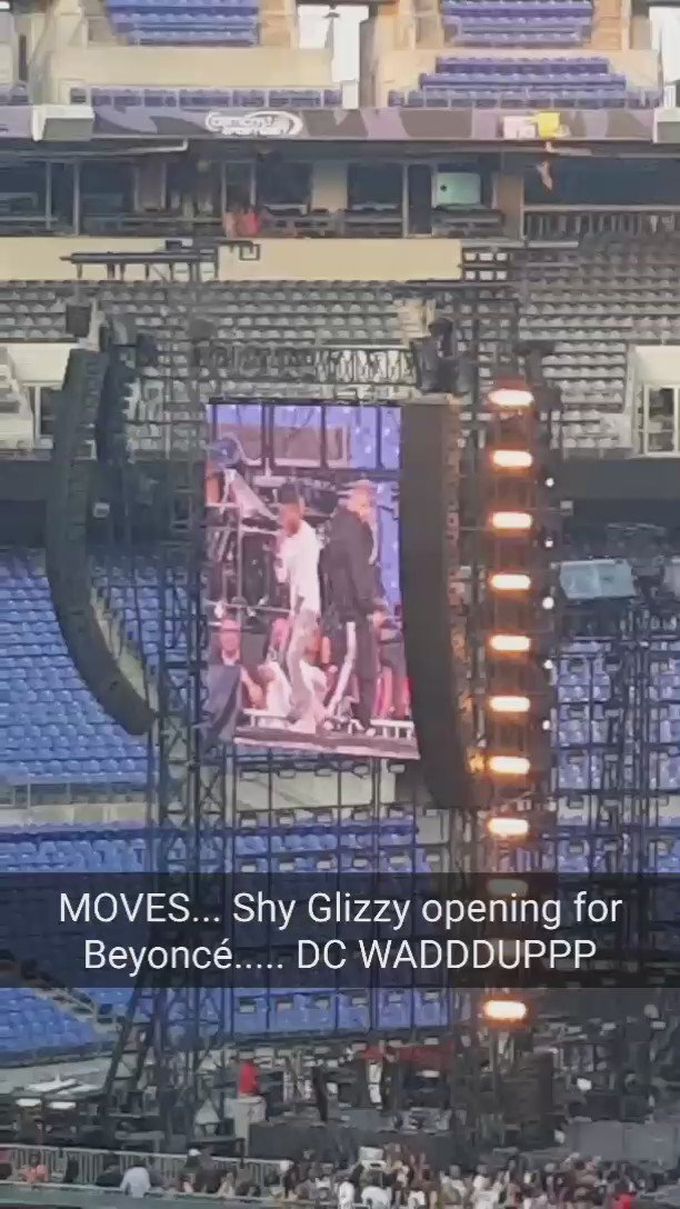 Yoooooo.... power move.... @ShyGlizzy opening for Beyoncé!!! https://t.co/zdL6gp9eFz