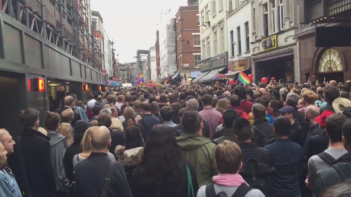 #OrlandoNightclubShooting #OrlandoShooting #LGBTSolidarity #London #Soho