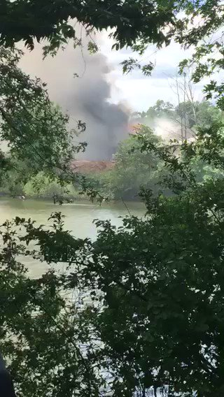 #BREAKING Large fire at Roger Williams Park. We have crews on scene. More at 5 @wpri12 https://t.co/XqXHR4piZP
