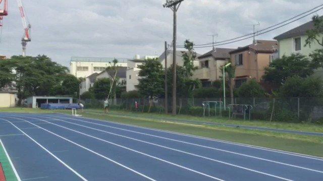 最高。 #polevault #5.70m #olympicstandard #1weektogo #nationalchampionship #roadtorio #fujitsu #nike #savas #nichidai https://t.co/3aZXXcj8oV