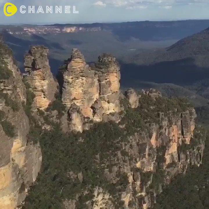 #オーストラリア の世界遺産ブルーマウンテンズ この #絶景 は感動まちがいなし♡  #cchannel #この夏どこ行く