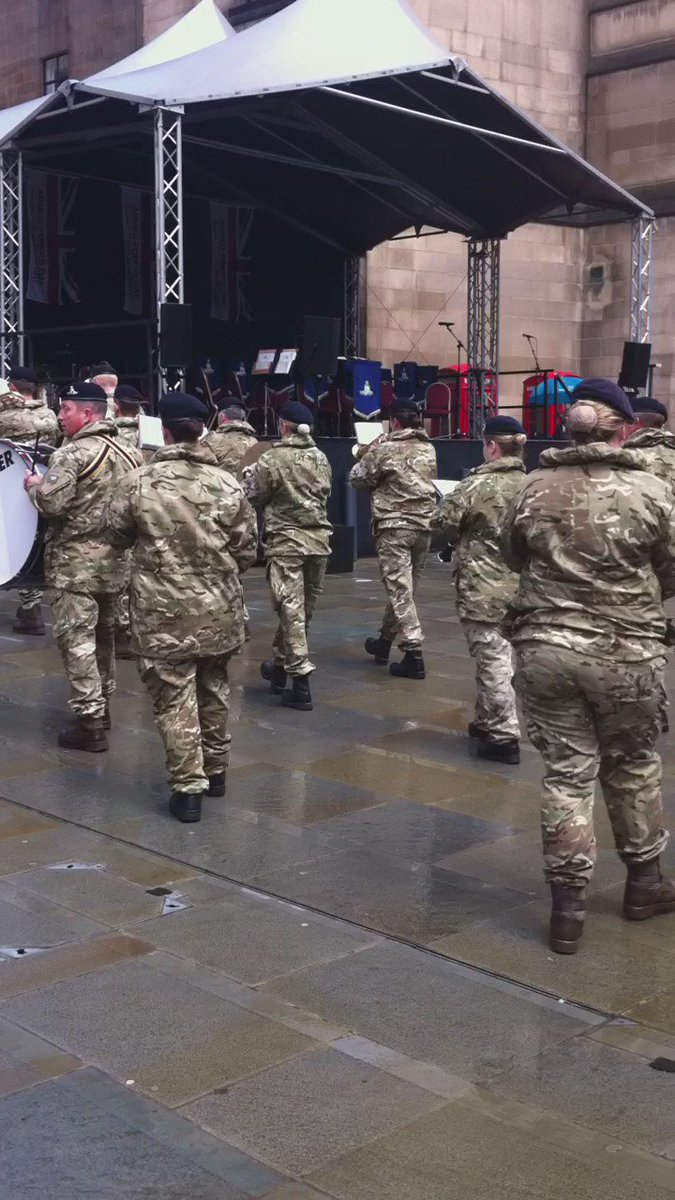 #ArmedForcesDay parade in #manchester #respect https://t.co/hqlahpPCFT