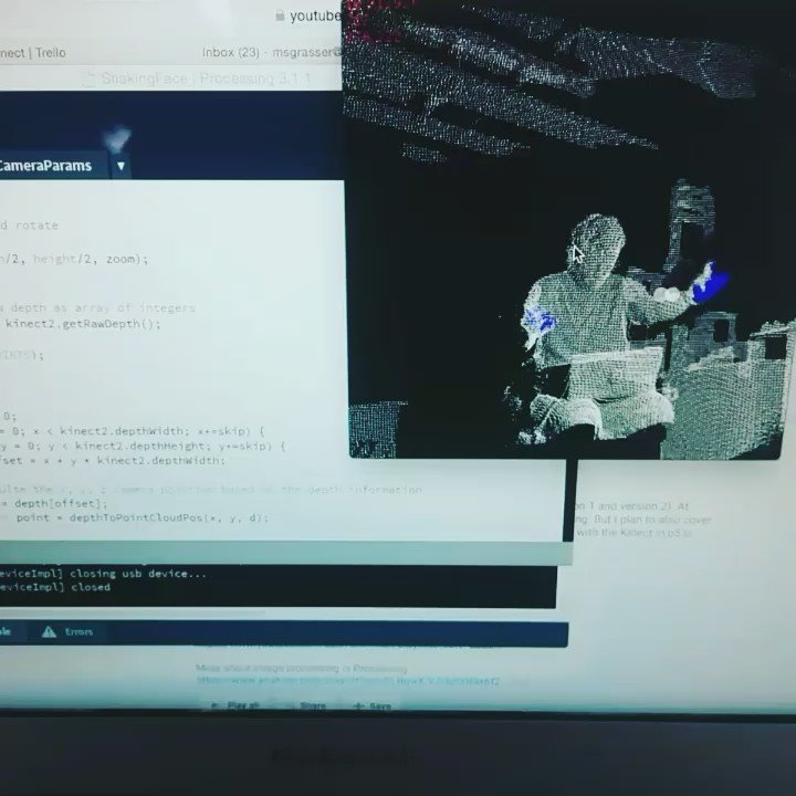 openkinect tagged Tweets and Downloader | Twipu