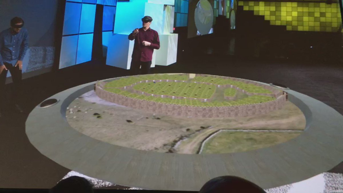 RT @impromark: #EsriUC2016 wow factor achieved!Integrating #ArcGIS and #HoloLens with @kalmarmus site data! https://t.co/0081zthBky