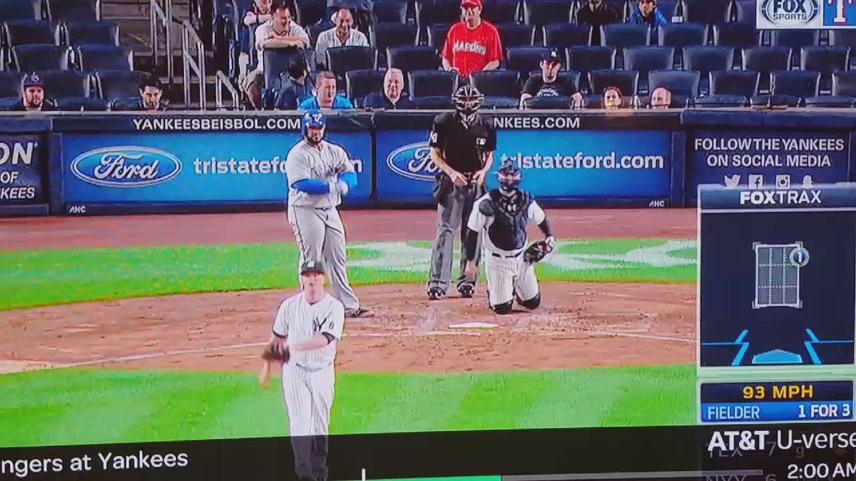 VIDEO: Beltre and Fielder sons celebrating go-ahead single at 2:30 in the morning. https://t.co/Fe4HtSlOBq