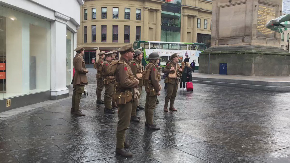 The soldiers are singing now #wearehere #newcastle https://t.co/5xPuNlRQQl