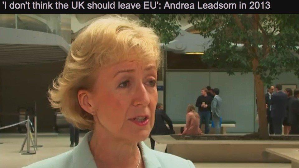 Britgirl Explains Brexit #FBPE ( ͡° ͜ʖ ͡°)'s photo on Andrea Leadsom