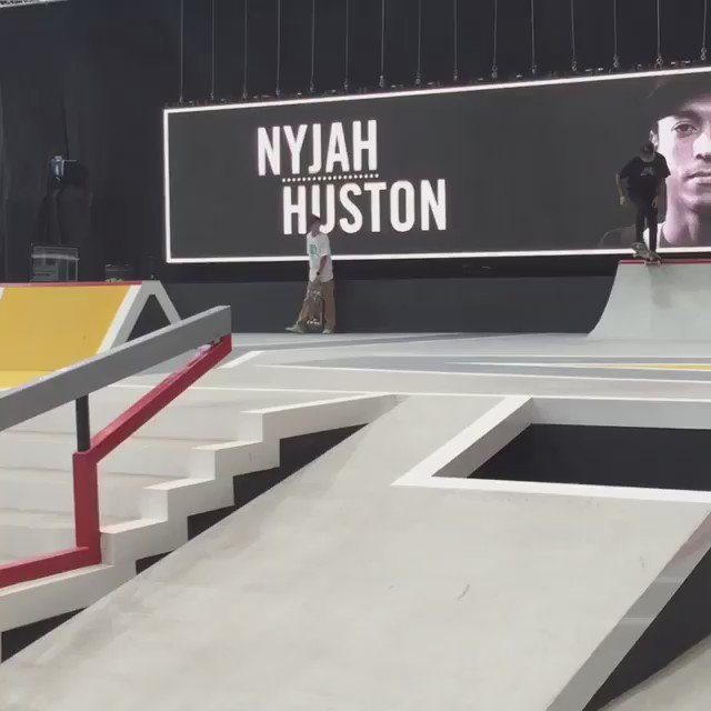 This bs flip nose grind back to regs by @nyjah is too good!