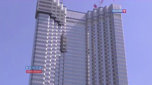#فيديو : طوكيو وصلو مرحلة أنهم يفككون برج كامل بدون صوت لإعادة إستخدام مواده، تطور مذهل بعيداً عن الديناميت. https://t.co/5iyhUpM9YJ
