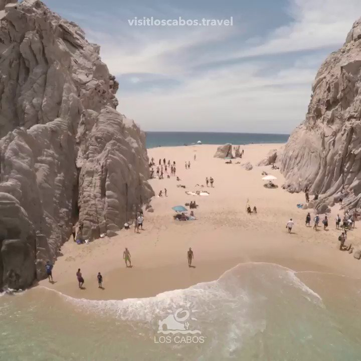 Enjoy the extraordinary location of Lover's Beach and Divorce Beach in #Cabo, a must visit during your vacation. https://t.co/3HJ82B4oDX