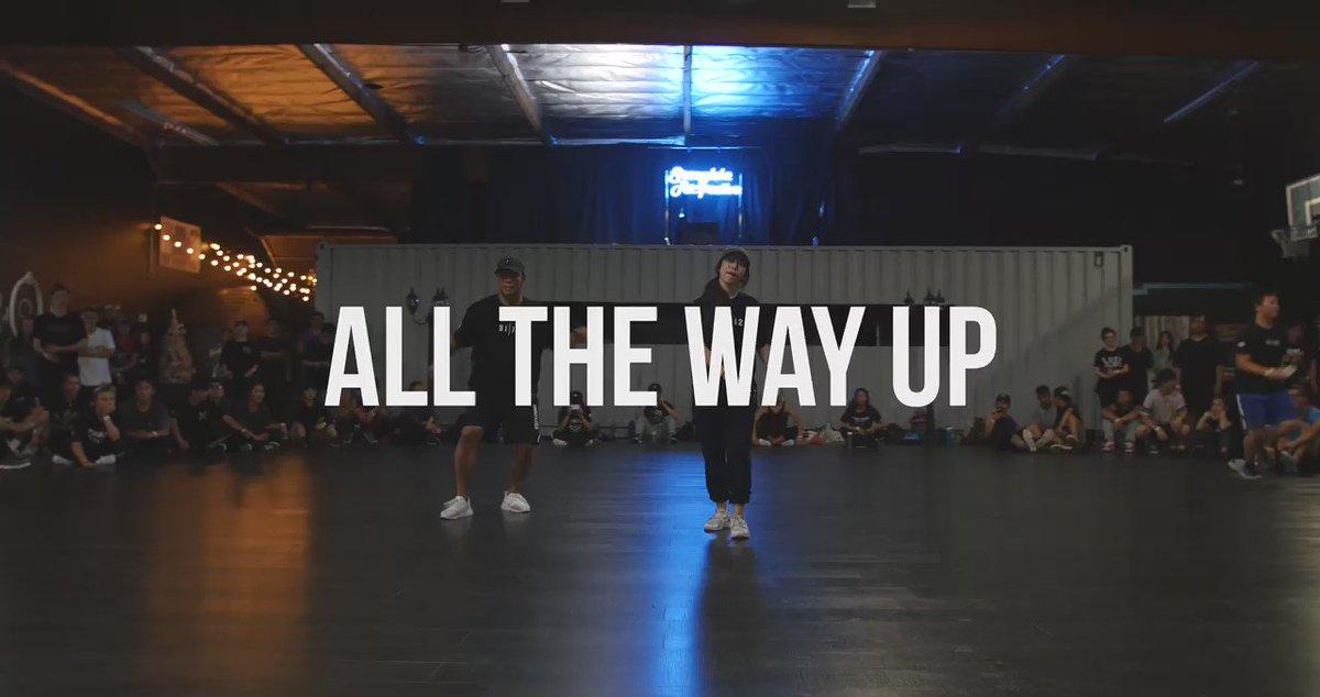 "Bam Martin X Sorah Yang Choreography | ""All the Way Up"" - Fat Joe & Remy Ma   Full vid: https://t.co/6mPfDc5HBw https://t.co/q2NcKlN9jU"