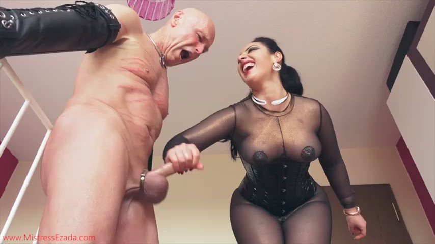 Bondage Sex Rough Gifs Femdom Mistress Is Milking Slave's Cock Best BDSM Gifs