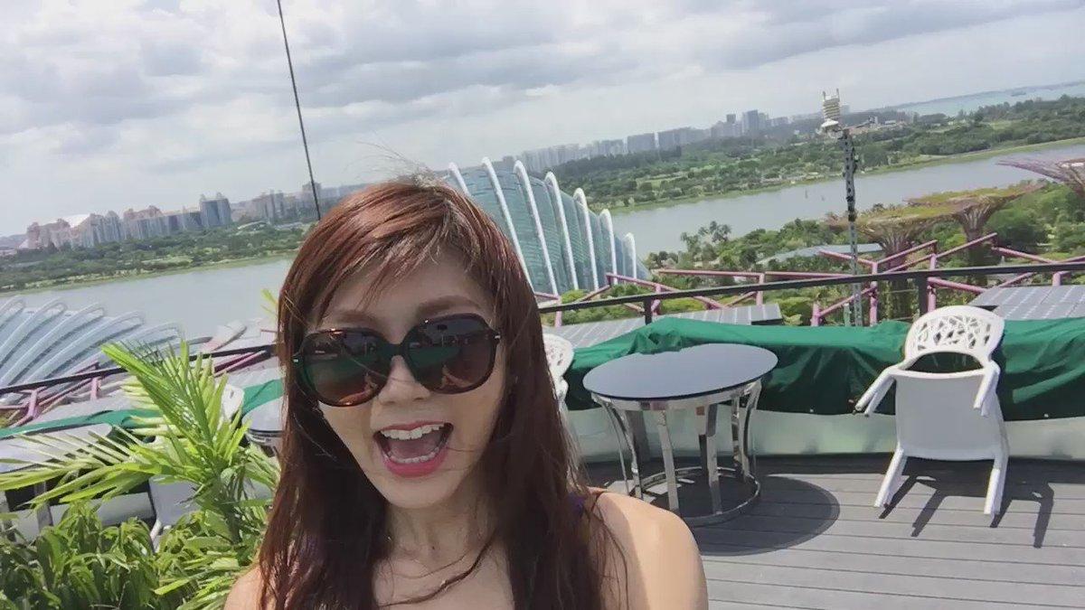 Marina Bay Sandsとか観覧車とか植物園とかー❤️ pic.twitter.com/u2gZL5rKJ2