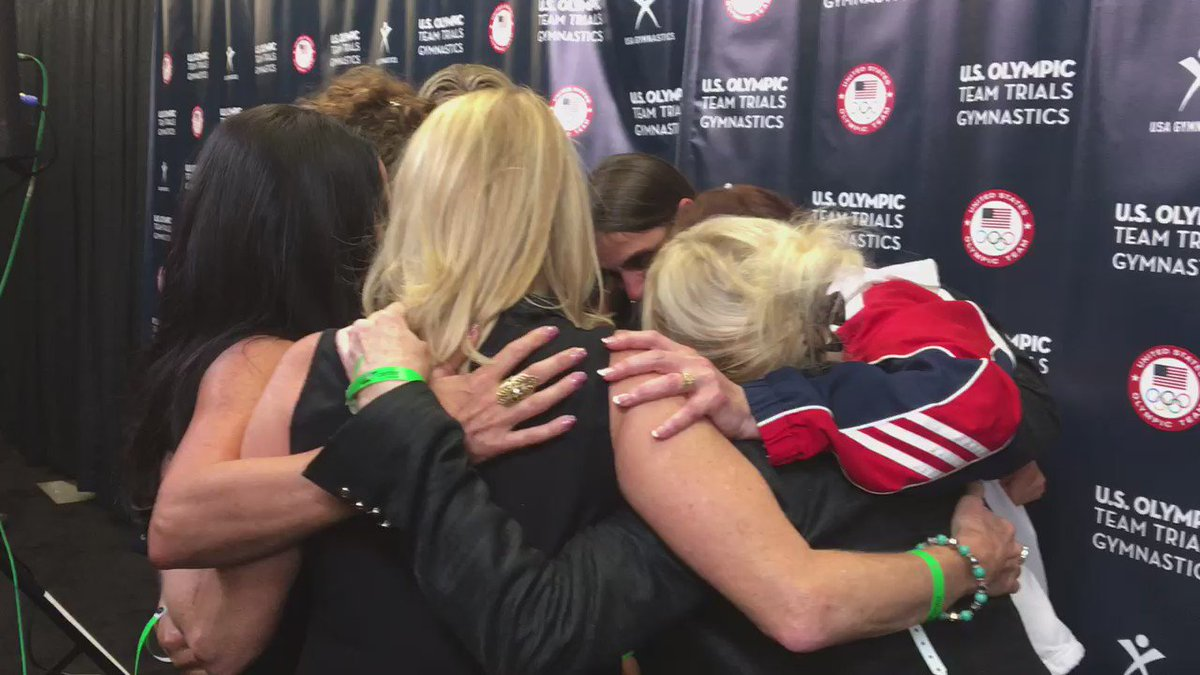 First reunion @USAGym 1980 Women's Olympic boycotted games still spark tears but also lots of love & respect https://t.co/IJOlObGWEY