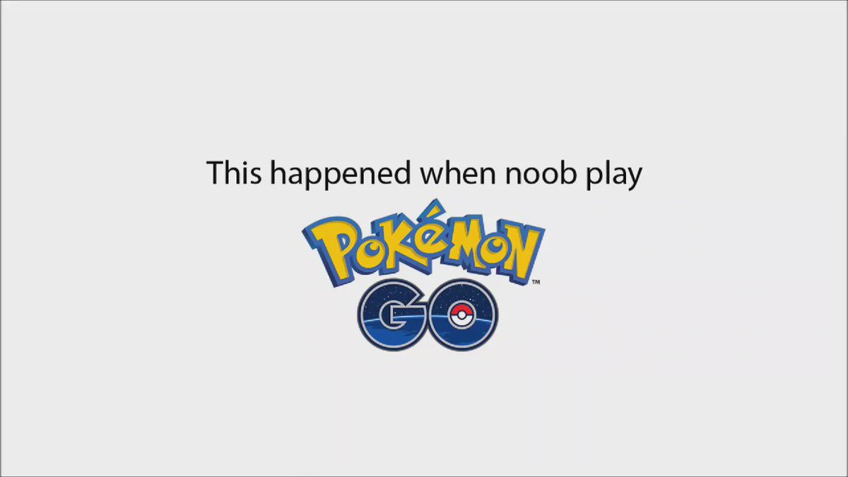 This is a #PokemonGO noob  Hit retweet if you would want to see more of this video or show you love by clicking love https://t.co/kETGfOdfkZ